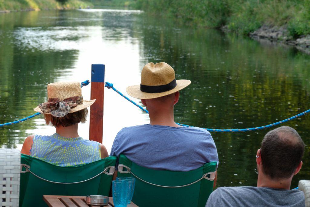 Biber Tour auf dem Wasser