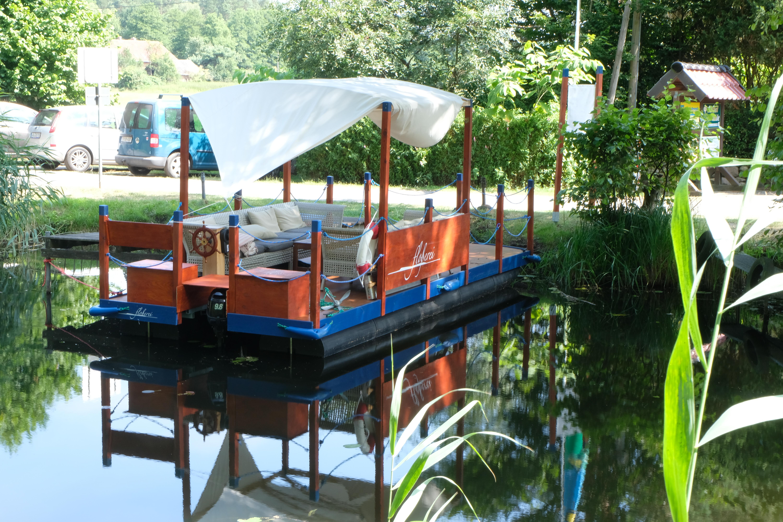 Kaffeefahrt Boot Floß
