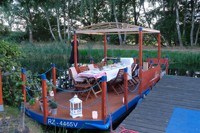 Vollmond tour Floß