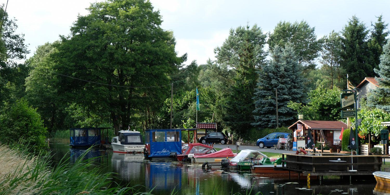 Campingplatz Malliß Bootsanleger