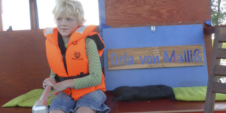 Kinder an Bord