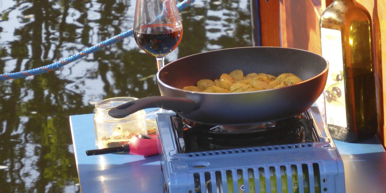 Kochen auf den Wasser